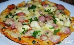«Быстрая пицца в мультиварке» - приготовления блюда - шаг 9
