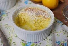 «Лимонный кекс-пудинг» - приготовления блюда - шаг 10