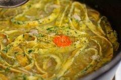 «Куриный суп с домашней лапшой» - приготовления блюда - шаг 15