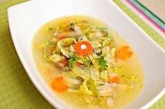 «Куриный суп с домашней лапшой» - приготовления блюда - шаг 16