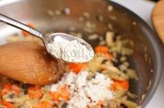 «Куриный суп с домашней лапшой» - приготовления блюда - шаг 6