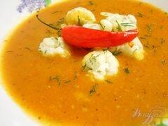 «Итальянский томатный суп» - приготовления блюда - шаг 4