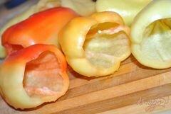 «Перец замороженный» - приготовления блюда - шаг 1
