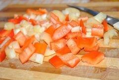 «Перец замороженный» - приготовления блюда - шаг 2