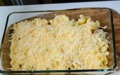 «Макаронная запеканка с сыром» - приготовления блюда - шаг 7