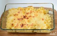 «Макаронная запеканка с сыром» - приготовления блюда - шаг 8