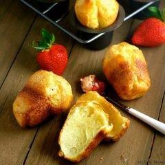 «Эклеры с клубничным маслом» - приготовления блюда - шаг 8