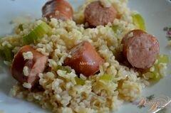 «Рис с колбасками» - приготовления блюда - шаг 3