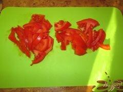 «Ежики со свежей зеленью в томатном соусе» - приготовления блюда - шаг 6