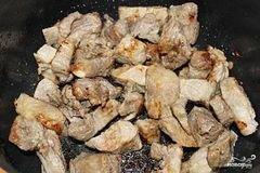 «Свинина с овощами в мультиварке» - приготовления блюда - шаг 3