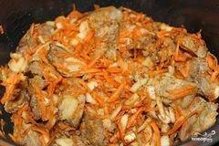 «Свинина с овощами в мультиварке» - приготовления блюда - шаг 5