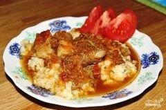 «Свинина с овощами в мультиварке» - приготовления блюда - шаг 7