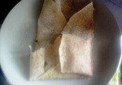«Ёка - абхазское блюдо из лаваша» - приготовления блюда - шаг 10