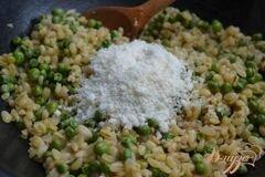 «Гарнир с перловой крупой и зеленым горошком» - приготовления блюда - шаг 3