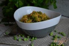 «Гарнир с перловой крупой и зеленым горошком» - приготовления блюда - шаг 4