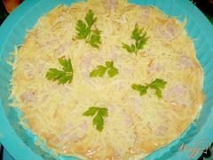 «Пицца с колбасой и сыром» - приготовления блюда - шаг 5
