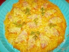 «Пицца с колбасой и сыром» - приготовления блюда - шаг 6