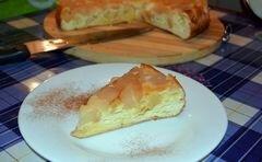 «Нежная Шарлотка на бисквите» - приготовления блюда - шаг 8
