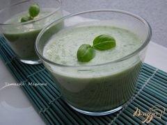 «Огуречный холодный суп» - приготовления блюда - шаг 4