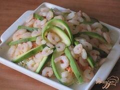 «Нежный салат «Заморский»» - приготовления блюда - шаг 4