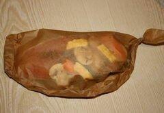 «Форель, запеченная в пергаменте» - приготовления блюда - шаг 2
