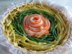 «Пирог с курятиной и стручковой фасолью» - приготовления блюда - шаг 2