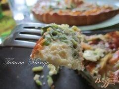«Пирог с курятиной и стручковой фасолью» - приготовления блюда - шаг 4