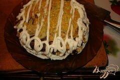 «Печеночный торт (печень куриная)» - приготовления блюда - шаг 7