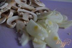 «Грибной суп с фрикадельками из мяса и гороха нут» - приготовления блюда - шаг 5