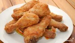 «Куриные ножки в кляре» - приготовления блюда - шаг 10
