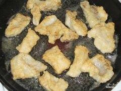 «Филе минтая жареное» - приготовления блюда - шаг 7