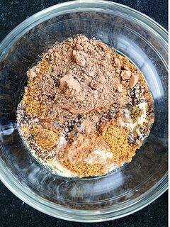 «Шоколадный чизкейк» - приготовления блюда - шаг 1