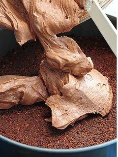 «Шоколадный чизкейк» - приготовления блюда - шаг 11