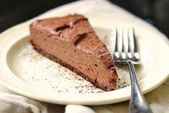 «Шоколадный чизкейк» - приготовления блюда - шаг 12