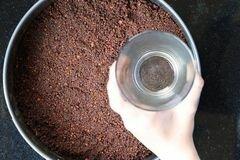 «Шоколадный чизкейк» - приготовления блюда - шаг 2