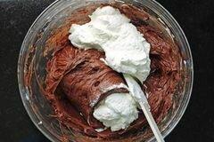 «Шоколадный чизкейк» - приготовления блюда - шаг 9