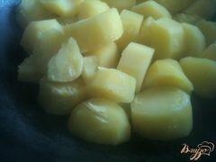 «Картофельные биточки с куриным мясом» - приготовления блюда - шаг 2