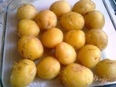 «Картофель с базиликом» - приготовления блюда - шаг 2