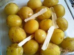 «Картофель с базиликом» - приготовления блюда - шаг 3