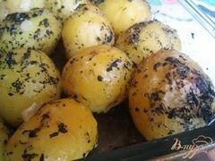 «Картофель с базиликом» - приготовления блюда - шаг 6