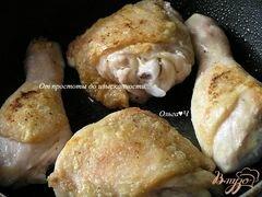 «Курица с картофелем в сливочно-горчичном соусе» - приготовления блюда - шаг 1