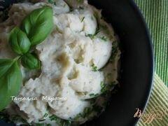 «Картофельное пюре с базиликом» - приготовления блюда - шаг 5