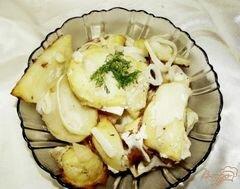 «Картофель маринованный, запеченный с луком» - приготовления блюда - шаг 6