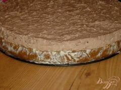 «Двухцветный творожный торт» - приготовления блюда - шаг 5