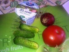 «Салат овощной с творогом» - приготовления блюда - шаг 1