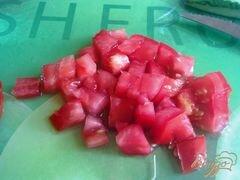 «Салат овощной с творогом» - приготовления блюда - шаг 6