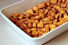«Жареный в духовке картофель с сыром» - приготовления блюда - шаг 4