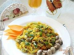 «Тушеная капуста с грибами» - приготовления блюда - шаг 5