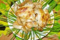 «Шашлык куриный на кефире с чесноком» - приготовления блюда - шаг 4