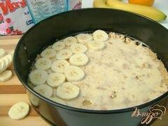 «Йогуртовый торт с бананами и шоколадными шариками «Празничный»» - приготовления блюда - шаг 2